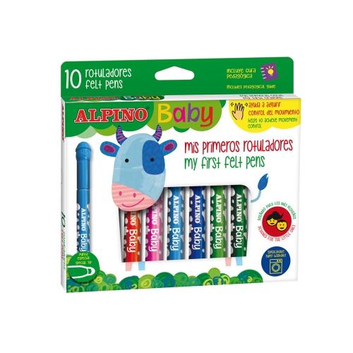 Alpino Baby Keçeli Kalem 10lu