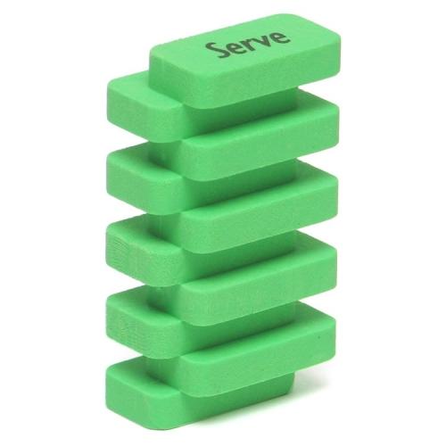 Serve Steps Silgi Yeşil
