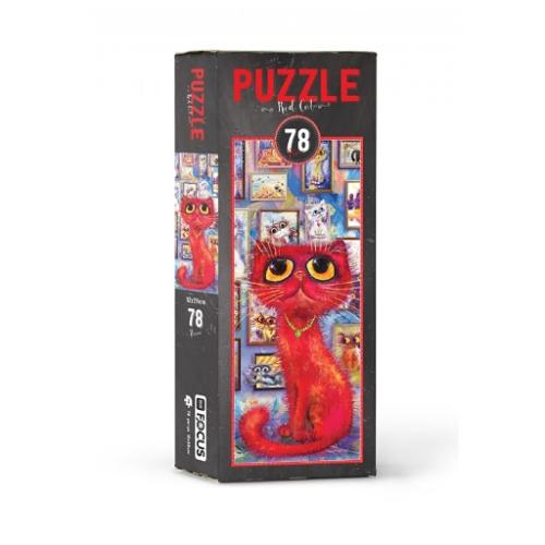 Red Cat 78 Parça Kutulu Puzzle