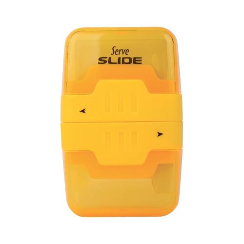 Serve Slide Silgili Kalemtraş Sarı
