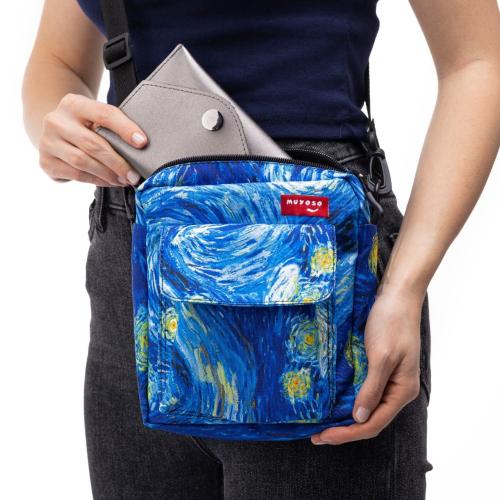 Yıldızlı Gece Cırt Cırtlı Muyoso Bag