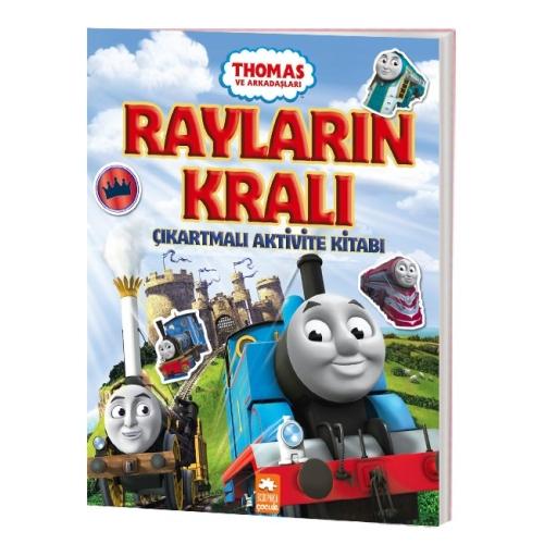 Thomas ve Arkadaşları - Rayların Kralı Çıkartmalı Aktivite Kitabı