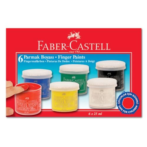 Faber Castell Parmak Boya 6 Renk