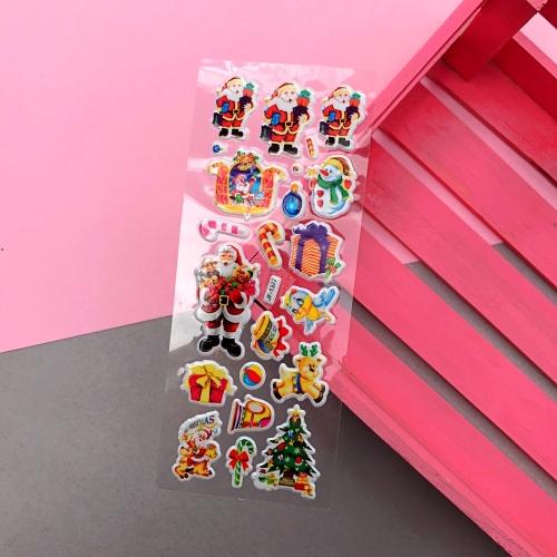 Yeni Yıl Yılbaşı Sticker Seti