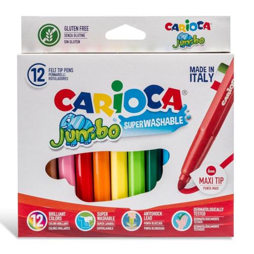 Carioca Joy 24'lü Süper Yıkanabilir Keçeli Boya Kalemi