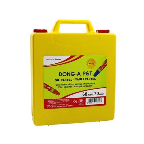 Dong-A 60 Renk Çantalı Pastel Boya