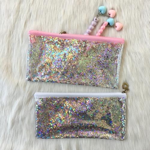 Premium Glitter Şeffaf Kalem Kutu