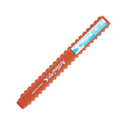 Artline Stix Brush Marker Kalem - Kahverengi