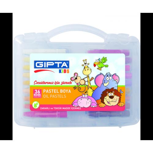 36 Renk Çantalı Pastel Boya - Gıpta Kids