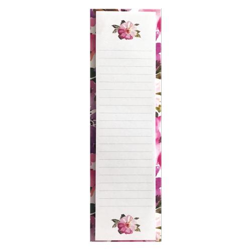 Victoria's Journals Watercolor Pink Slim Yapışkanlı Not Kağıdı