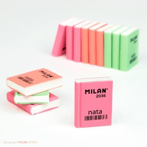 Kitap Şekilli Renkli Silgi - Milan