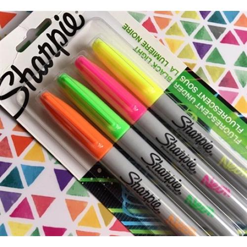 Sharpie Neon 4'lü Marker Kalem Seti