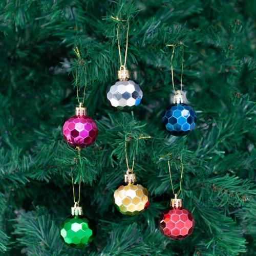 Yılbaşı Ağaç Süsleme Topları 6'lı Paket