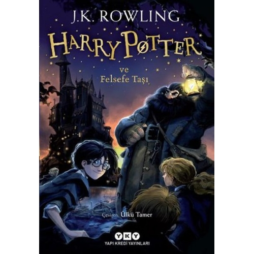 Harry Potter ve Felsefe Taşı 1 - J.K Rowling