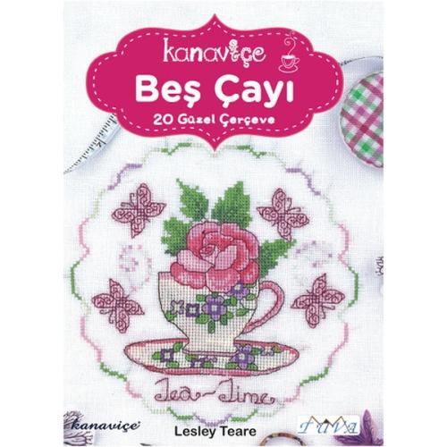 Kanaviçe Beş Çayı - Lesley Teare