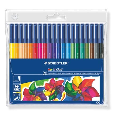 Staedtler Noris 20 Renk Keçeli Kalem