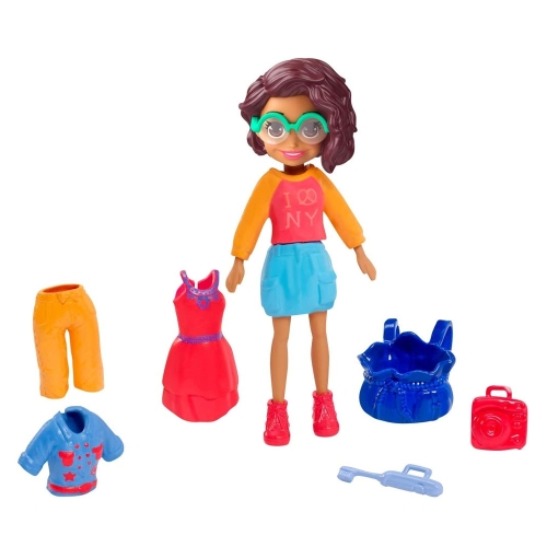 Polly Pocket ve NYC Style Pack Moda Aksesuarları