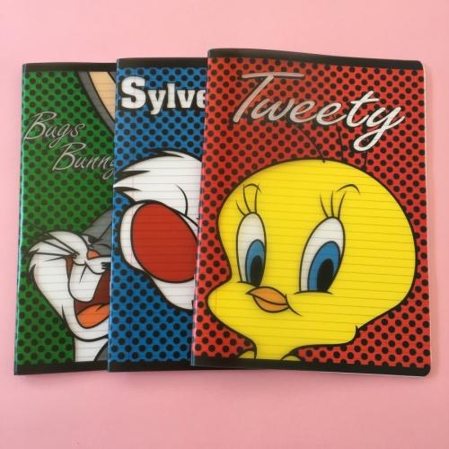 Mynote Looney Tunes 60 Yaprak Çizgili Defter - A4