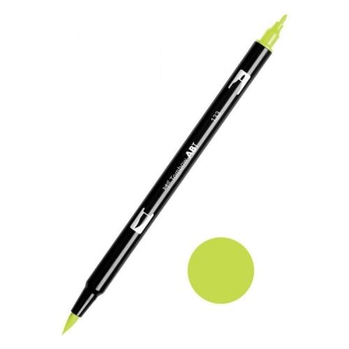 Tombow ABT Dual Brush Çift Uçlu Keçeli Kalem Chartreuse - 133