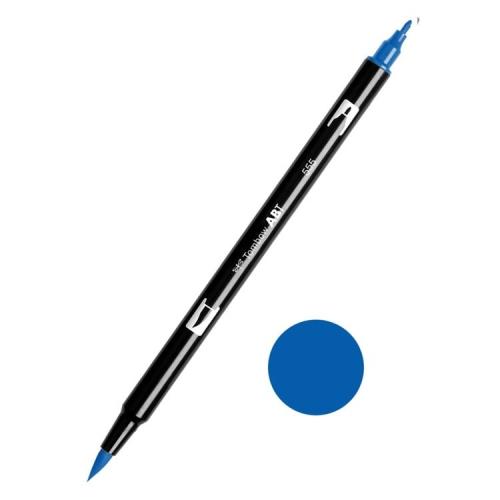 Tombow ABT Dual Brush Çift Uçlu Keçeli Kalem Ultramarine - 555