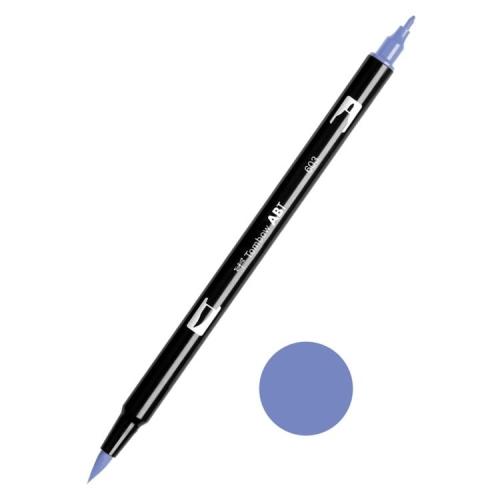 Tombow ABT Dual Brush Çift Uçlu Keçeli Kalem Periwinkle - 603