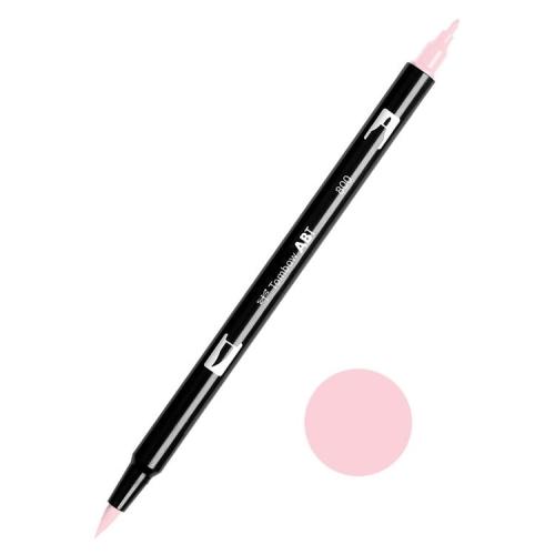 Tombow ABT Dual Brush Çift Uçlu Keçeli Kalem Baby Pink - 800