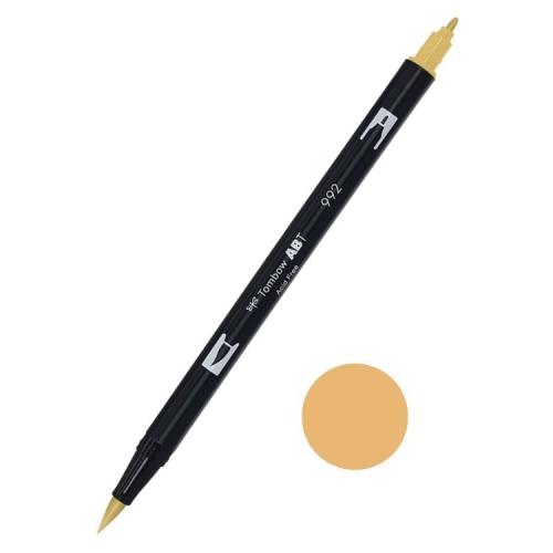 Tombow ABT Dual Brush Çift Uçlu Keçeli Kalem Sand - 992