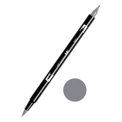 Tombow ABT Dual Brush Çift Uçlu Keçeli Kalem Cool Grey 2- N65