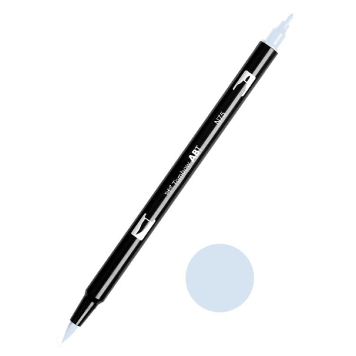 Tombow ABT Dual Brush Çift Uçlu Keçeli Kalem Cool Gray 3 - N75