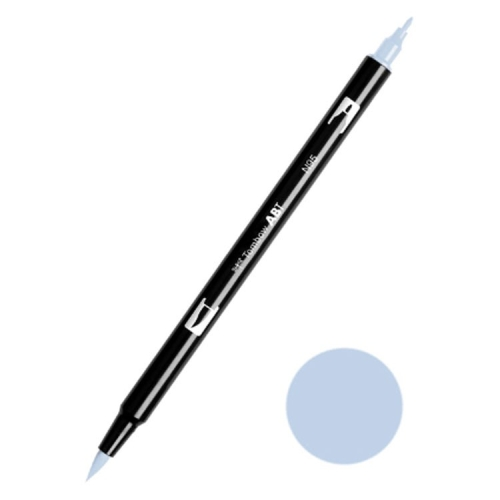 Tombow ABT Dual Brush Çift Uçlu Keçeli Kalem Cool Gray 1 - N95