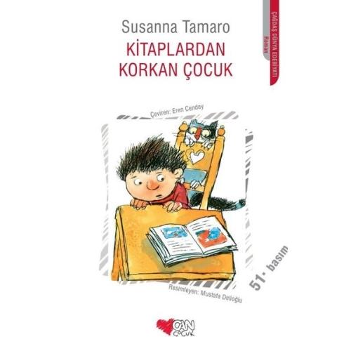 Kitaplardan Korkan Çocuk Susanna Tamaro - Can Yayınları