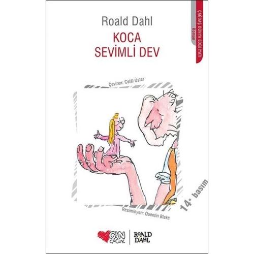 Koca Sevimli Dev Roald Dahl - Can Yayınları