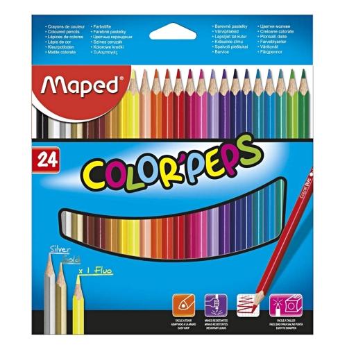 Color Peps 24'lü Kuru Boya - Maped