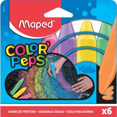 Yer Tebeşiri 6 Renk - Maped