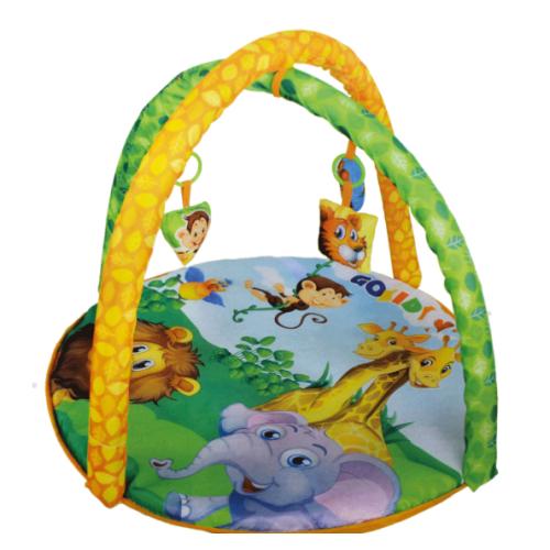 Gokidy Neşeli Hayvanlar Oyun Halısı Bebek Minderi