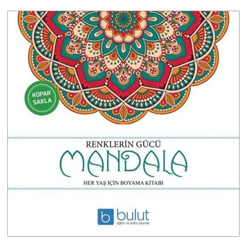 Renklerin Gücü Yetişkinler İçin Mandala Boyama Kitabı