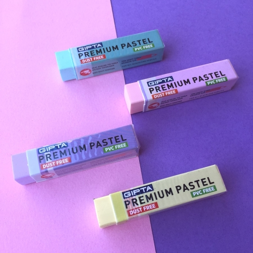 Premium Pastel Uzun Silgi - Gıpta