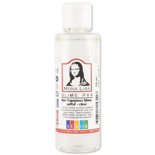 Mona Lisa Slime Yapıştırıcısı - Şeffaf